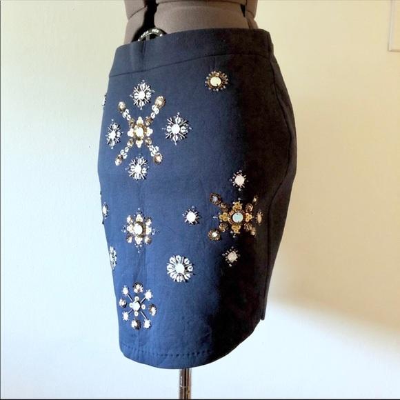 H&M Dresses & Skirts - H&M Jeweled Skirt
